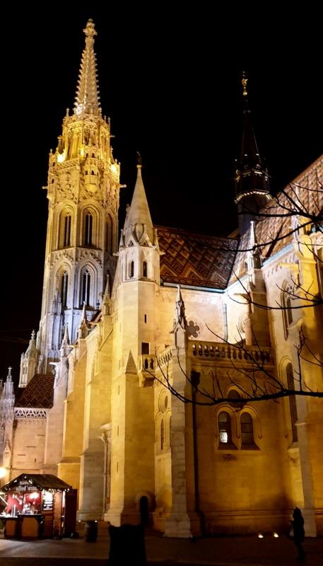 Budimpešta Noću