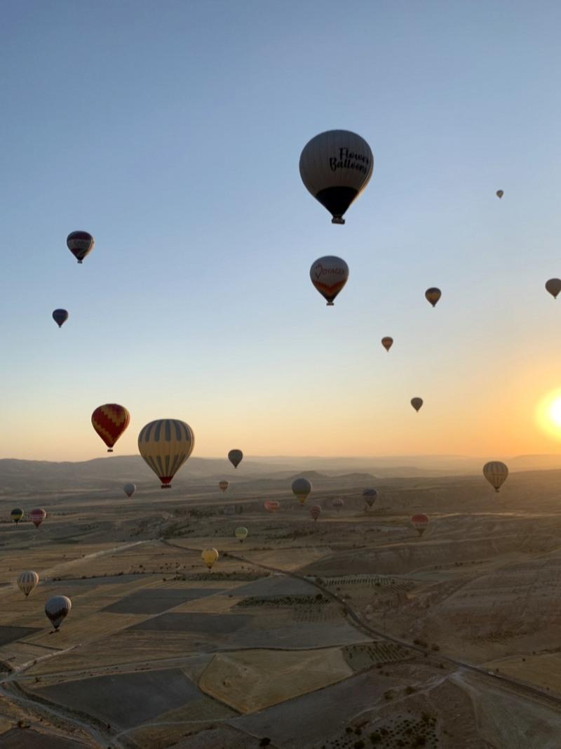 Putovanje Turska Kapadokija baloni