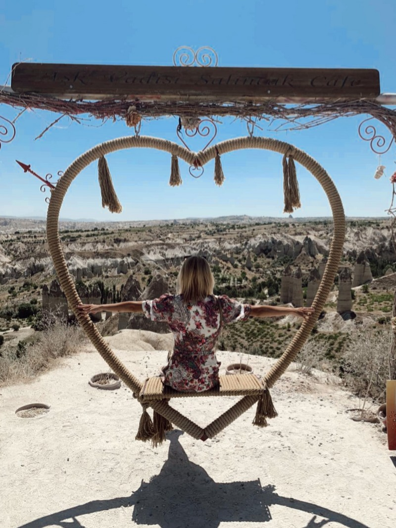 Putovanje Turska Kapadokija ljuljaška