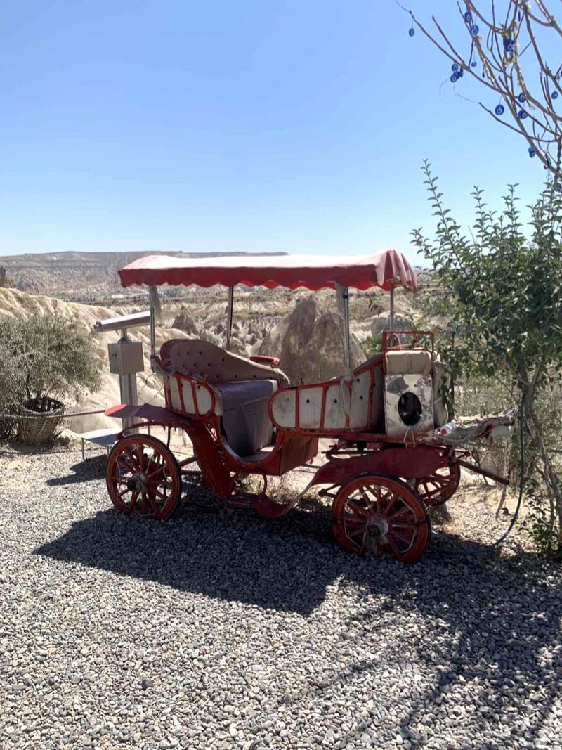 Putovanje Turska Kapadokija kočija