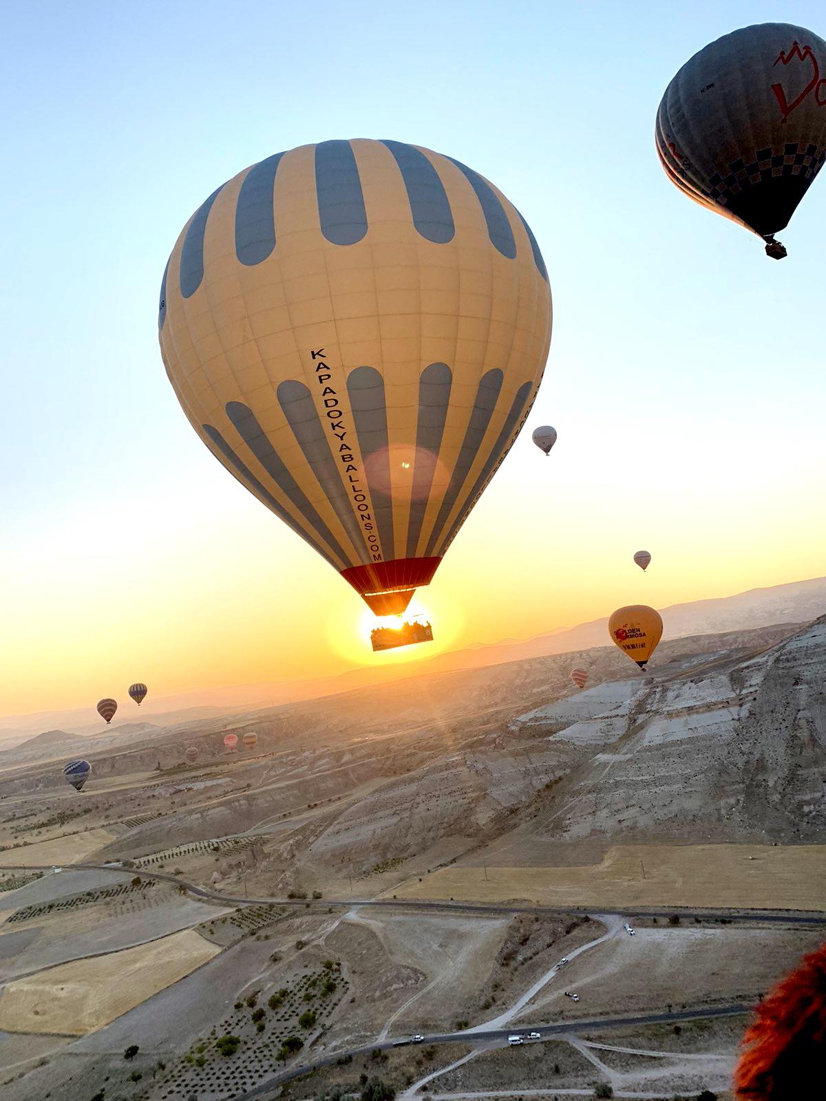 Baloni Kapadokija Putovanje