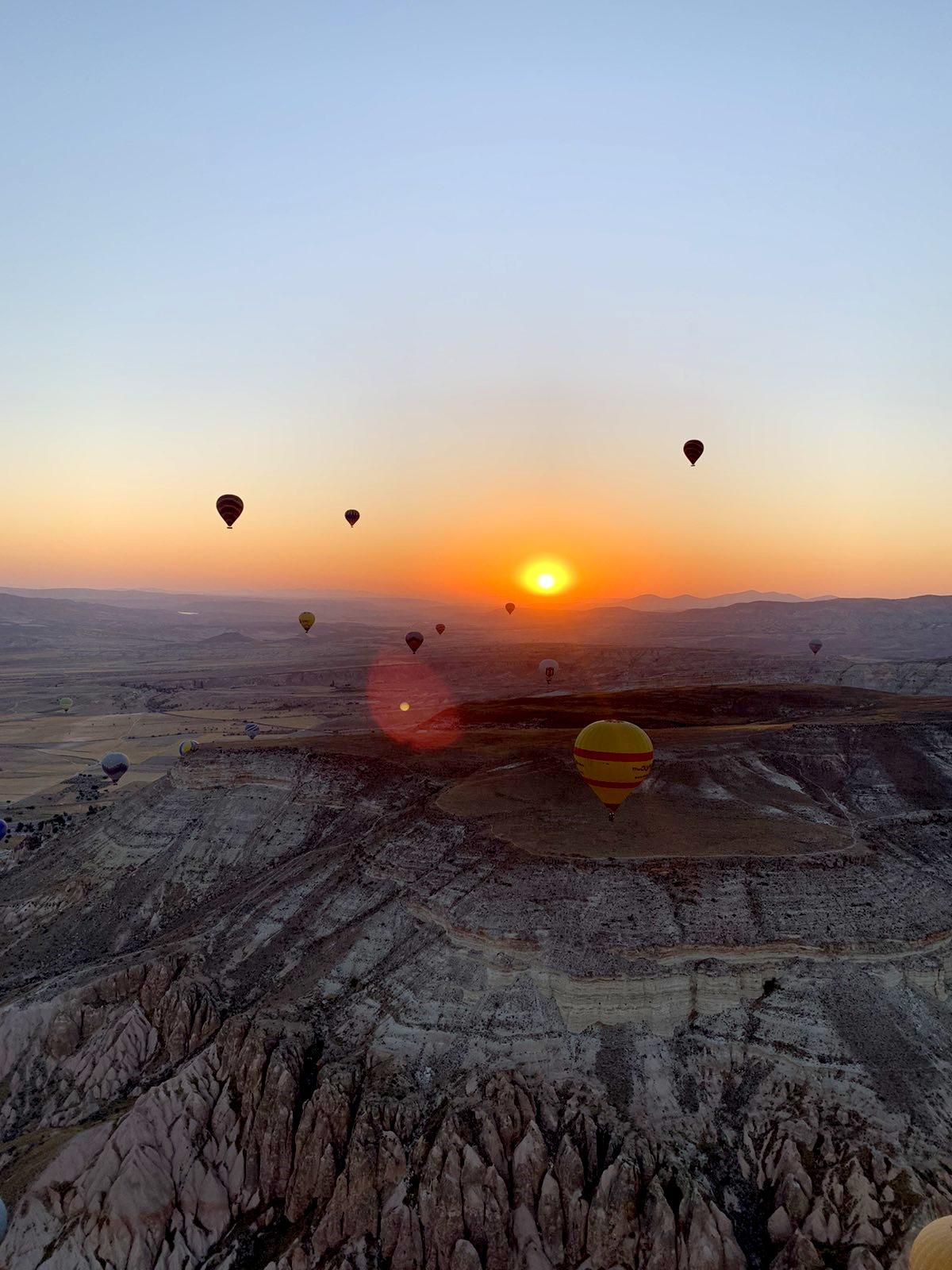 Zalazak Sunca Turska Kapadokija
