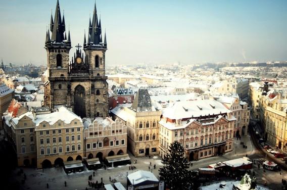 Doček Nove Godina Prag 2020