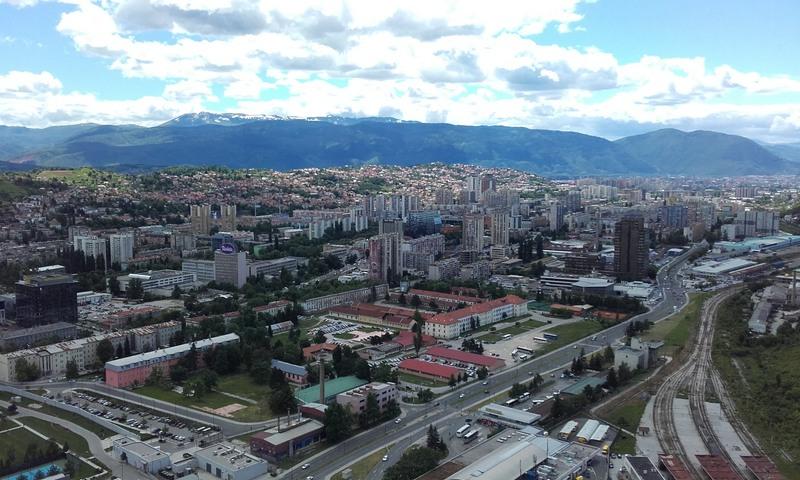 Putovanje Sarajevo panorama