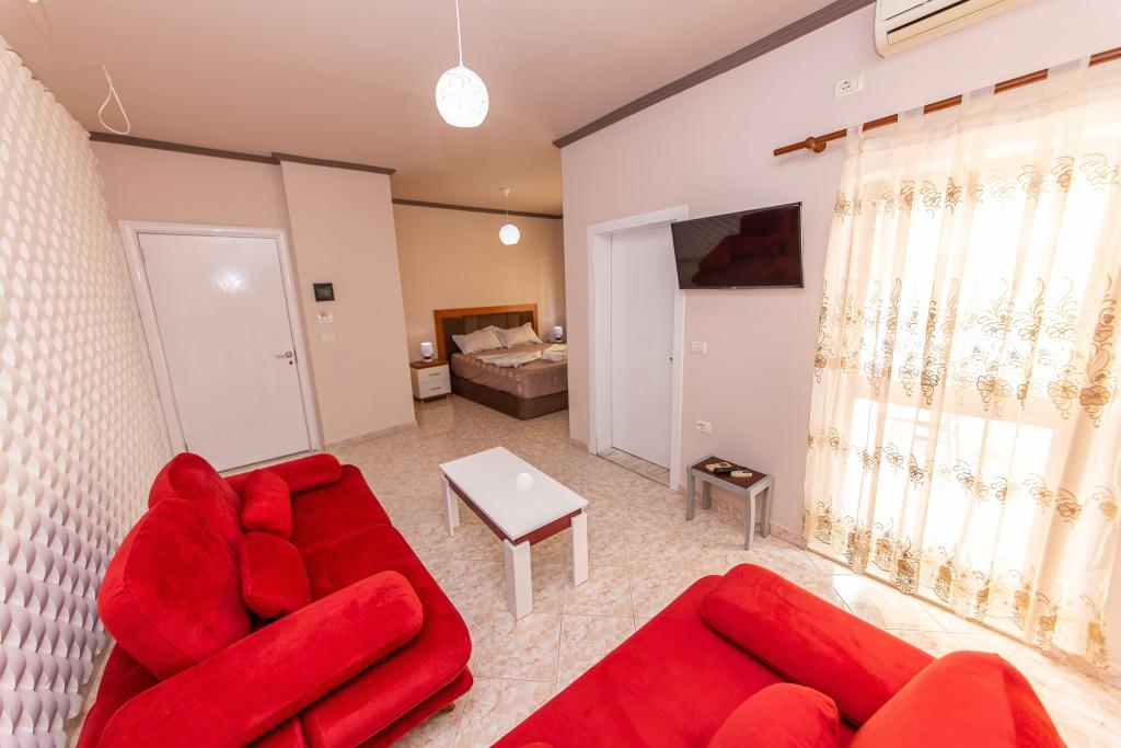 Hotel Fiore Drač Albanija tv
