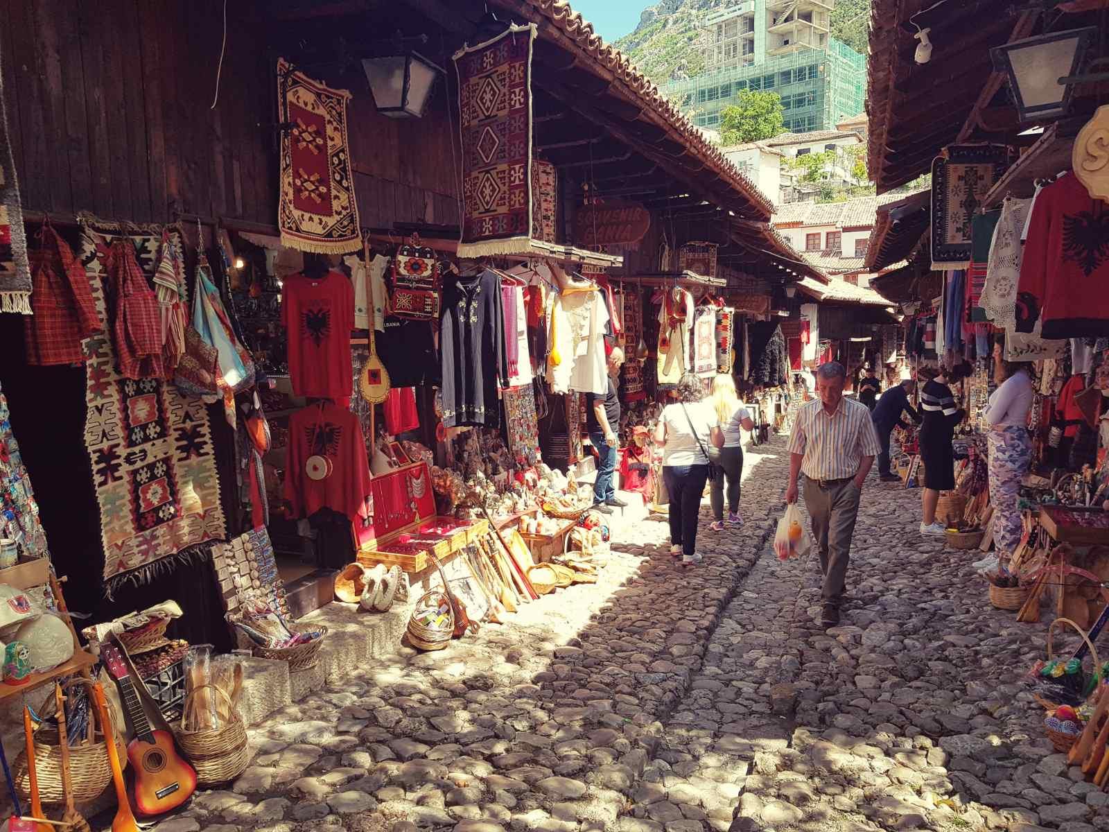 Kruja Albanija grad