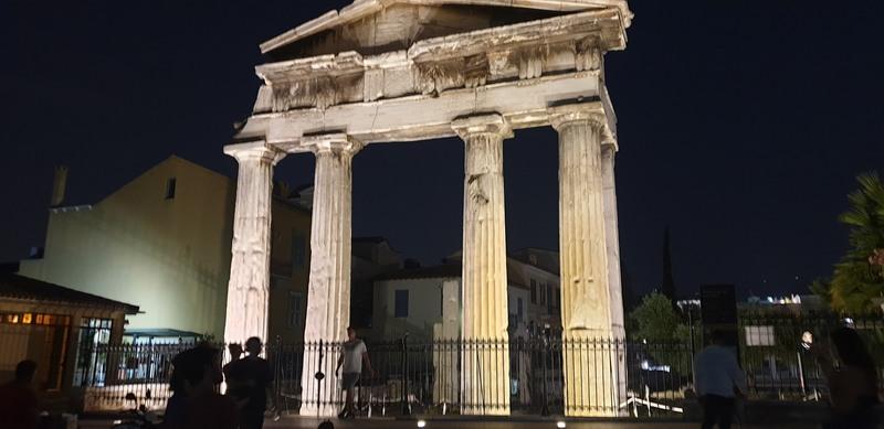 Grčka Atina noću