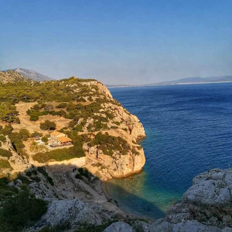 Lutraki Grčka more