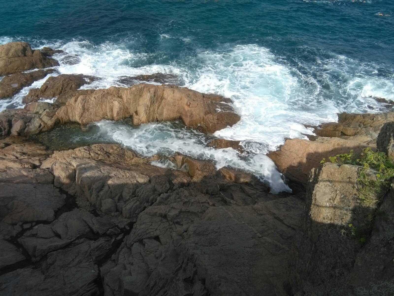 Španija Ljoret de Mar stene