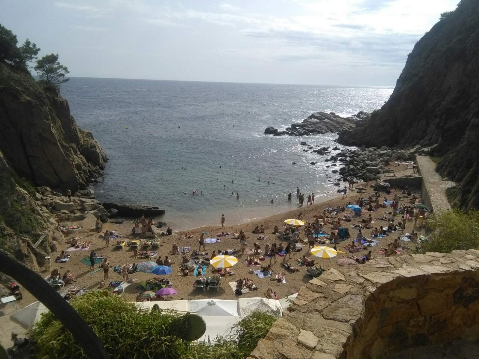 Španija Tosa de Mar leto