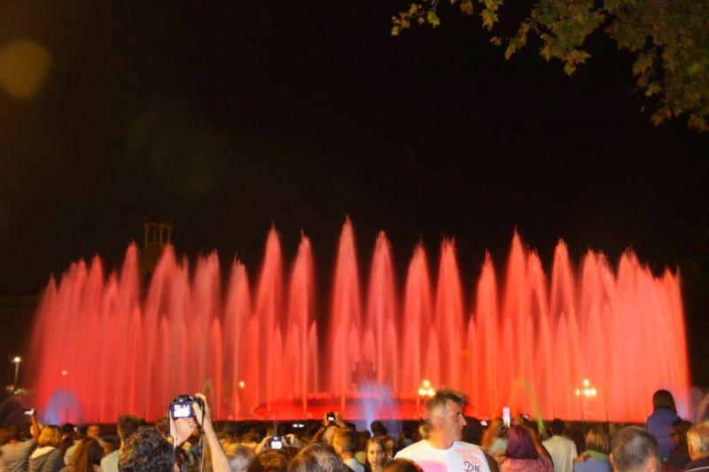 Barselona magična fontana