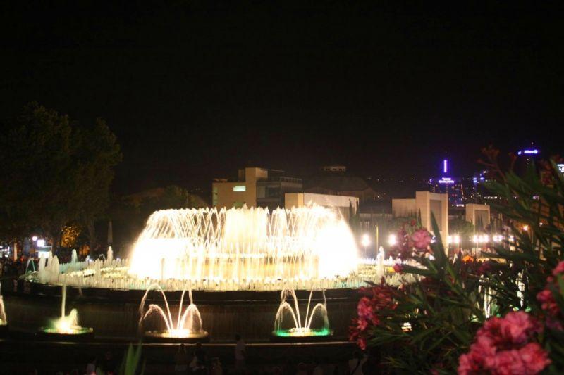 Španija Barselona magična fontana