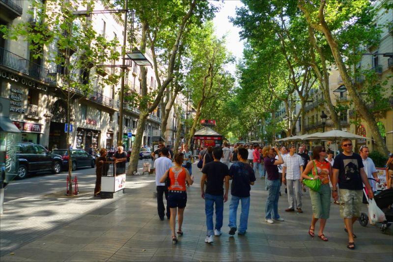 Barselona šetalište