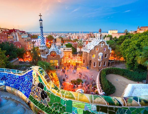 Barselona Gaudijev park