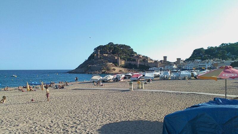 Španija Tosa de Mar plaža