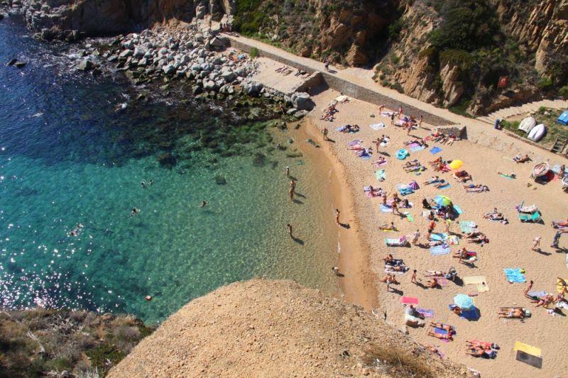 Letovanje Španija Tosa de Mar plaža