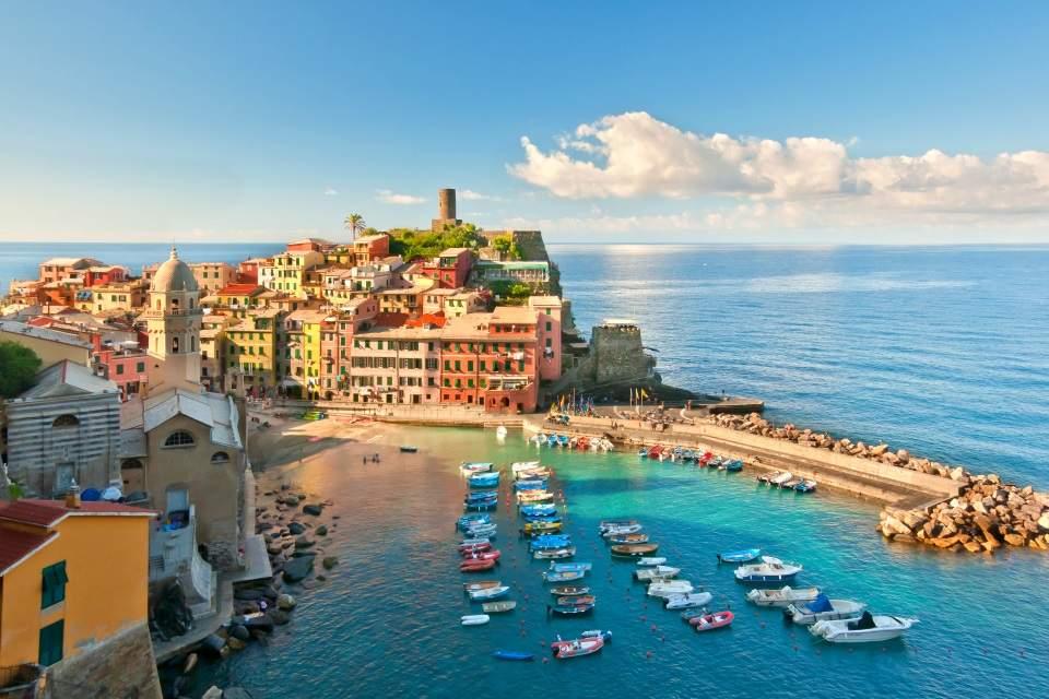 Đenova Cinque Terre Putovanje