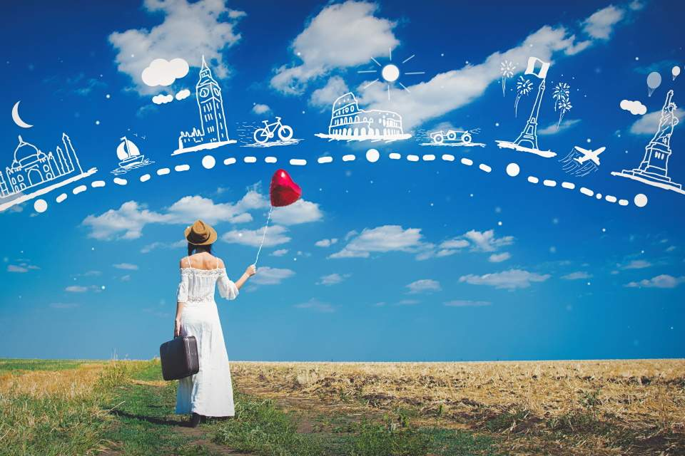 Evropski Gradovi Leto Jesen 2020 Putovanje