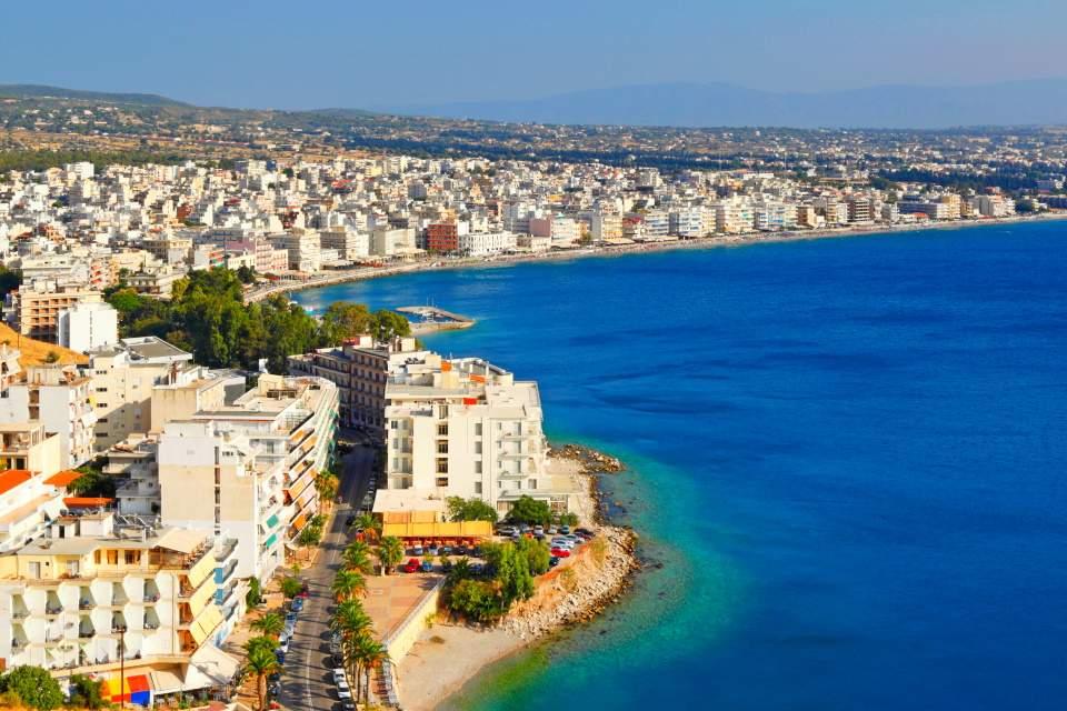 Grčka letovanje Lutraki 2020