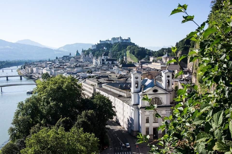 Salzburg i Jezera Austrije 2020