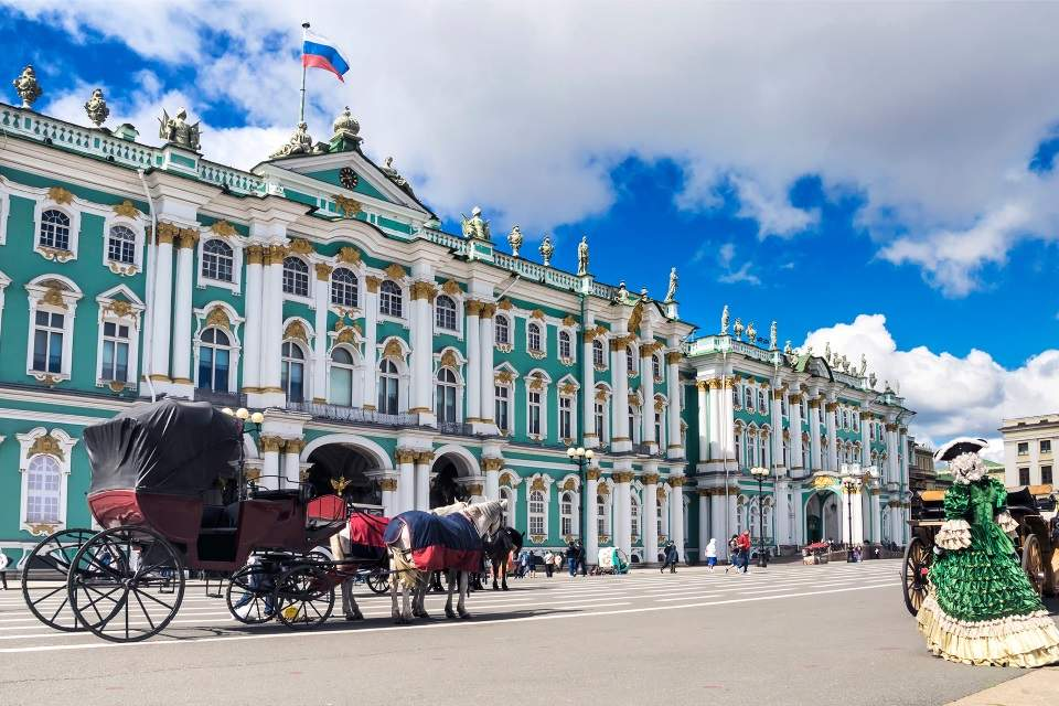#Uskrs Moskva i Sankt Peterburg