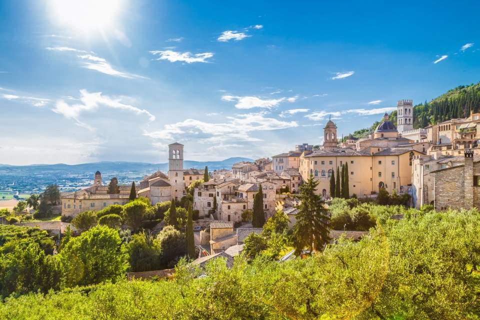 Nova Italia Umbria Toskana Putovanje