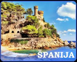 španija leto